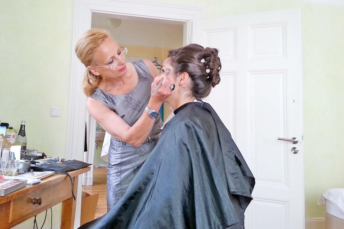Braut-Makeup